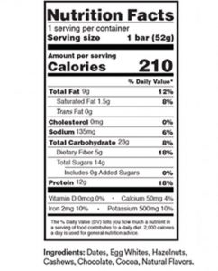 Rx Bar Reviews--New Flavor Chocolate Hazelnut